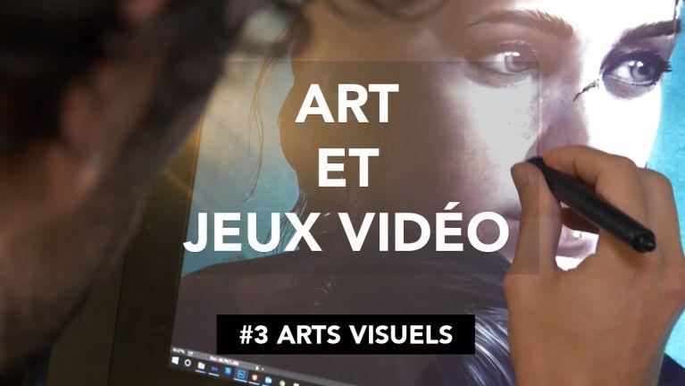 Art et jeux vidéo 3 art visuels